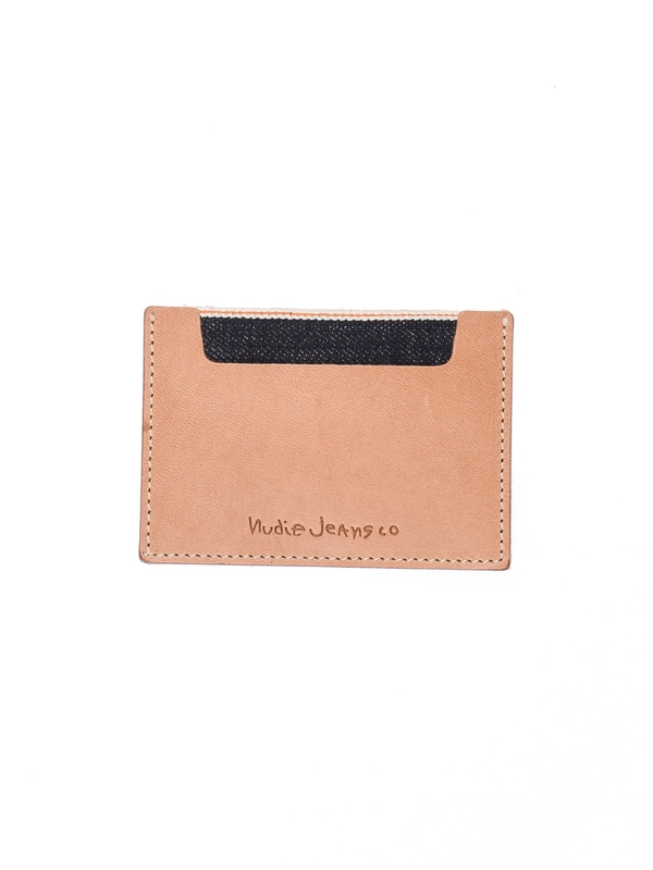 Ivansson Selvage & Leather Natural wallets selvage
