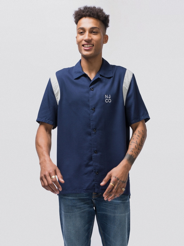 Jack Bowling Night short-sleeved shirts
