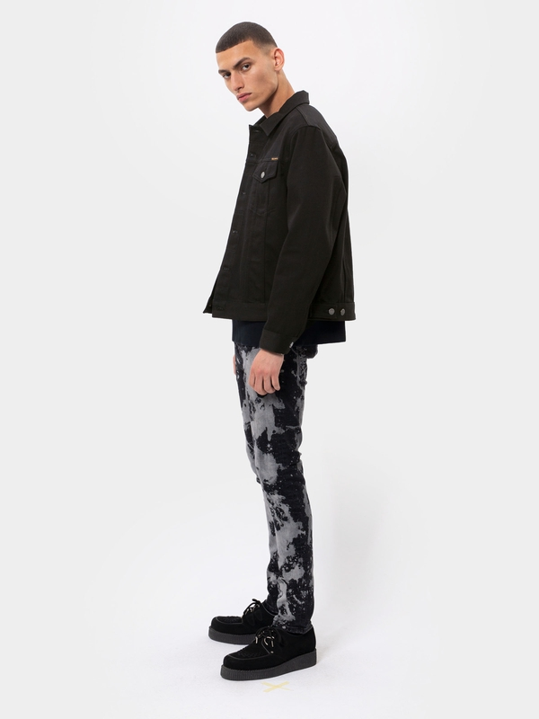 Jerry Dry Black Twill black denim-jackets
