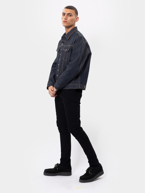 Jerry Dry Ring dry denim-jackets