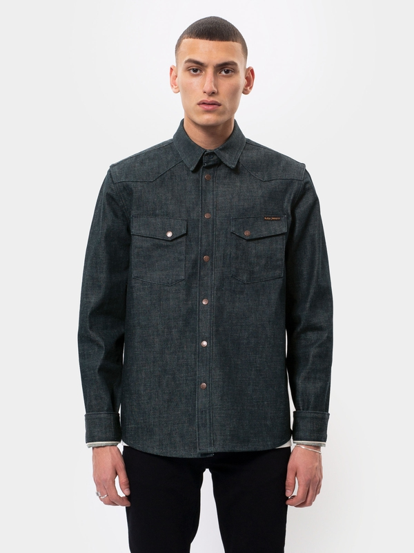 Jonas Dry Ink Selvage shirts long-sleeved