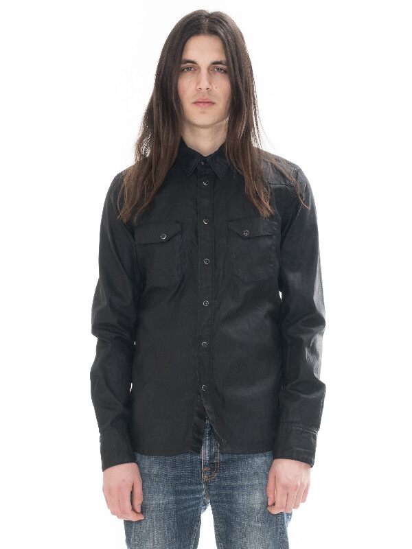Jonis Black Duke Denim shirts