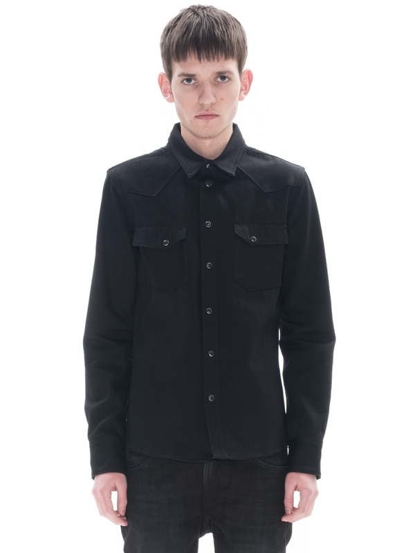Jonis Black Selvage Denim shirts