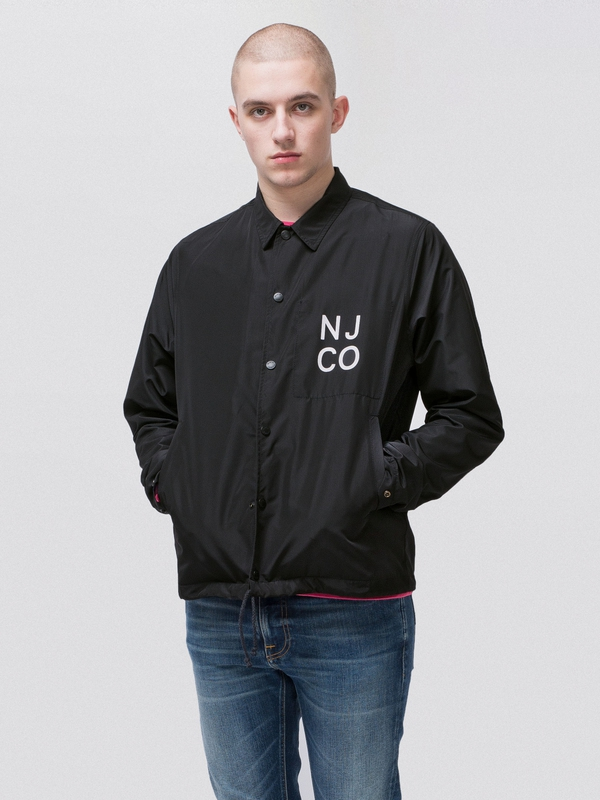 Josef Coach Jacket Black