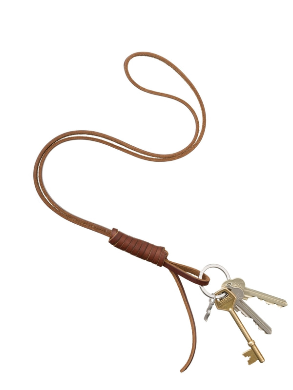 Knopsson Neck Strap Brown misc accessories