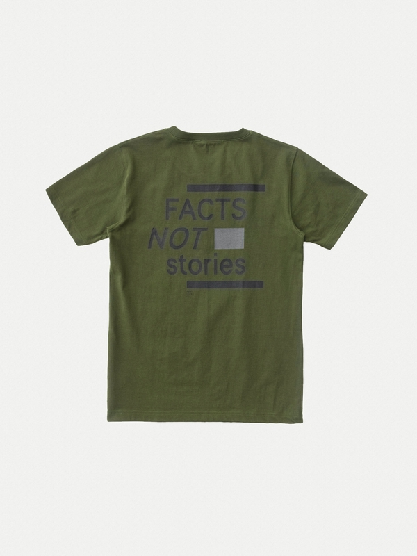 Kurt Facts Not Stories Lawn short-sleeved tees printed