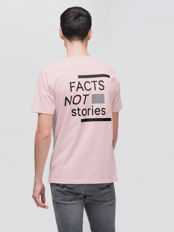 Kurt Facts Not Stories Sakura short-sleeved tees printed