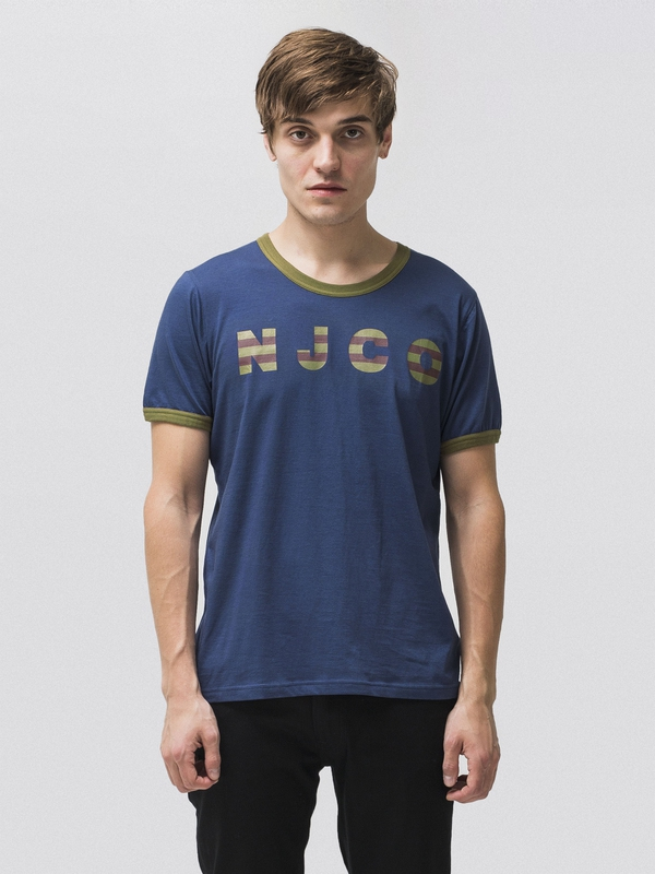 Kurt NJCO Stripes Oden Blue t-shirts tees