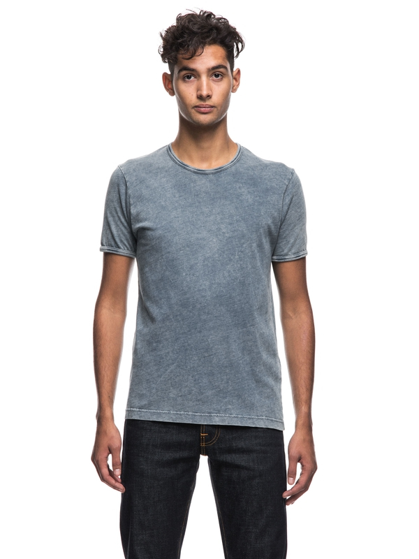 Kurt Shimmering Indigo short-sleeved tees solid