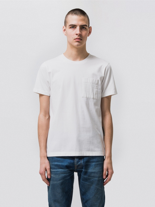 Kurt Worker Tee Offwhite t-shirts tees short-sleeved solid