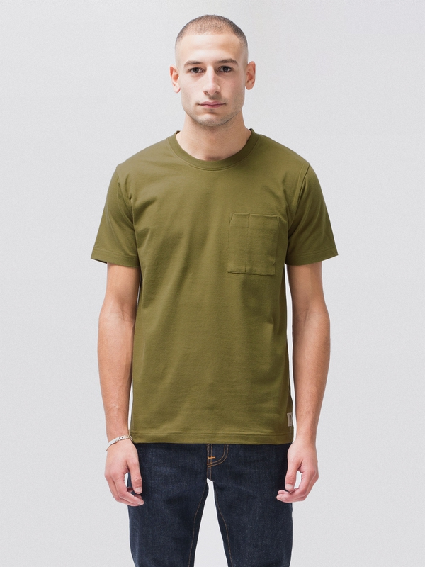 Kurt Worker Tee Army Yellow