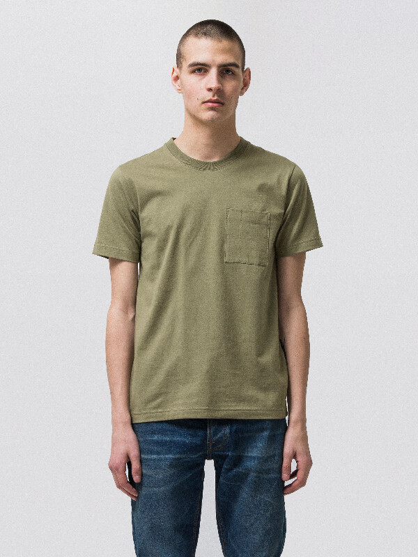 Kurt Worker Tee Beech Green short-sleeved tees solid