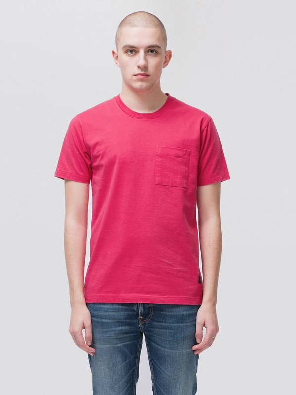 Kurt Worker Tee Cerise