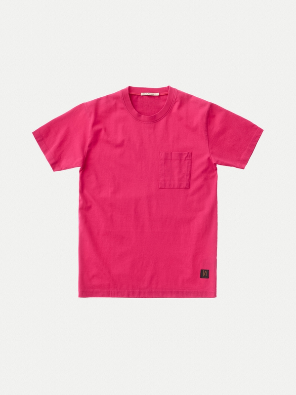 Kurt Worker Tee Cerise short-sleeved tees solid