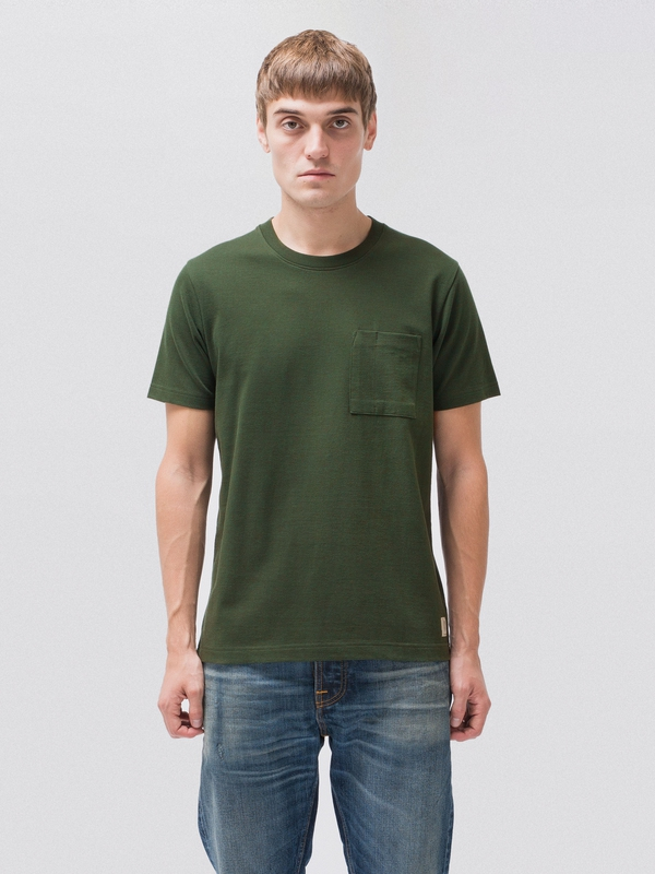 Kurt Worker Tee Ivy short-sleeved tees solid