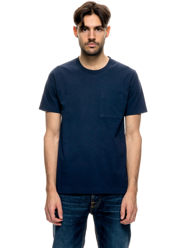 Kurt Worker Tee Midnight short-sleeved tees solid