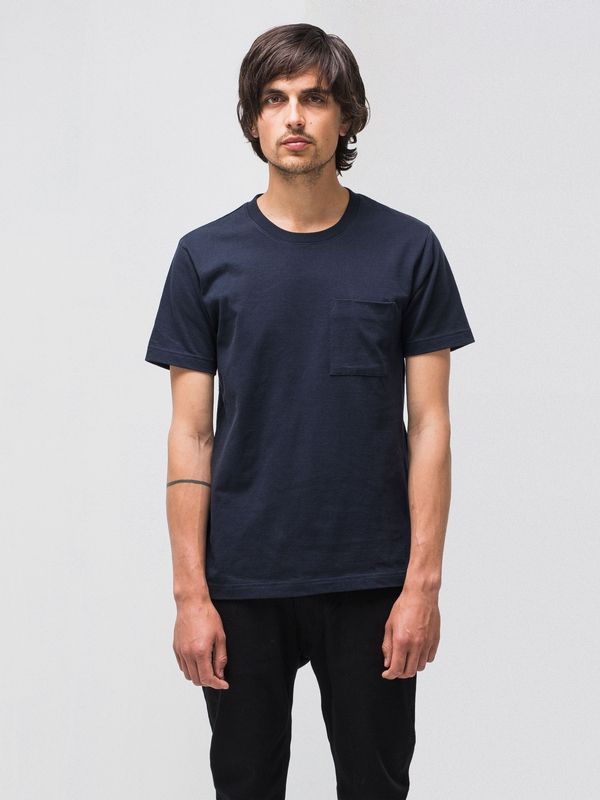 Kurt Worker Tee Navy t-shirts tees short-sleeved