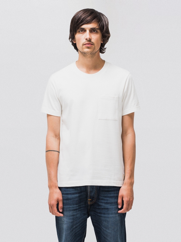 Kurt Worker Tee Offwhite short-sleeved tees solid