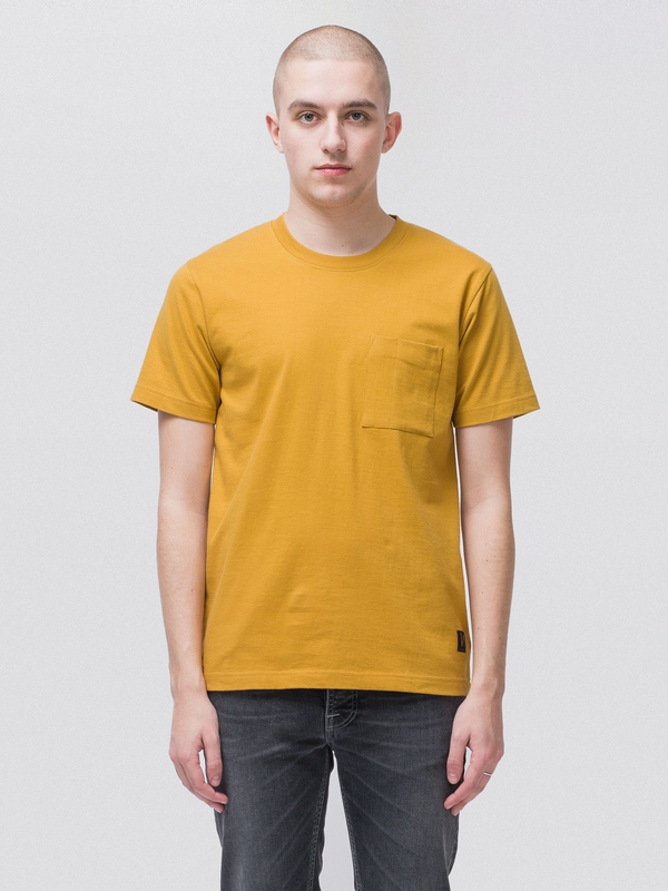 Kurt Worker Tee Turmeric short-sleeved tees solid