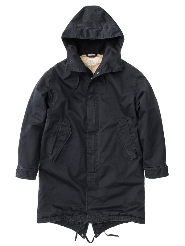 Lars Swedish Parka Black