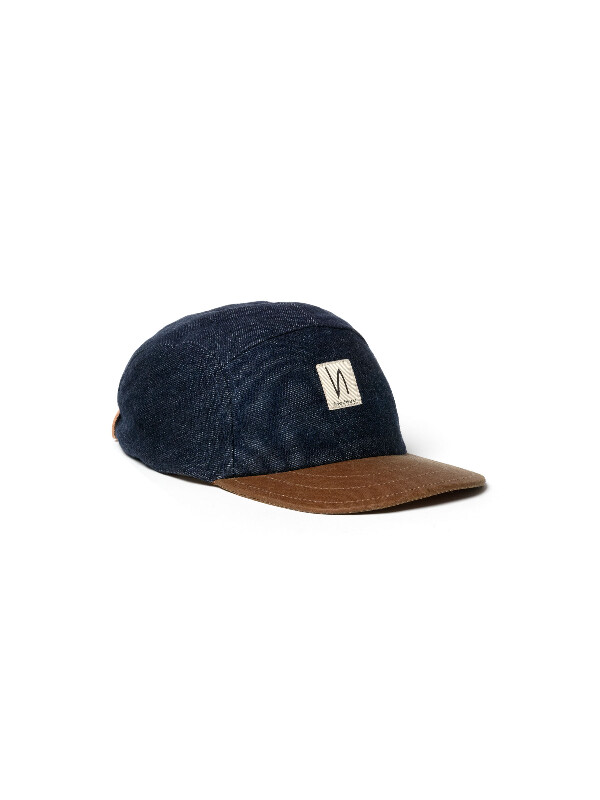 Larsson Recycled Cap Denim hats accessories