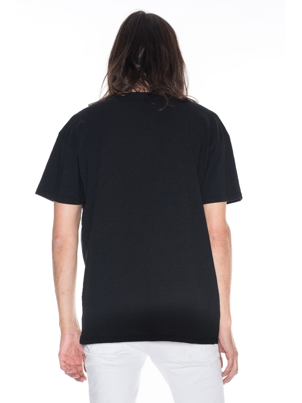 Lasse Loose V-Neck Black