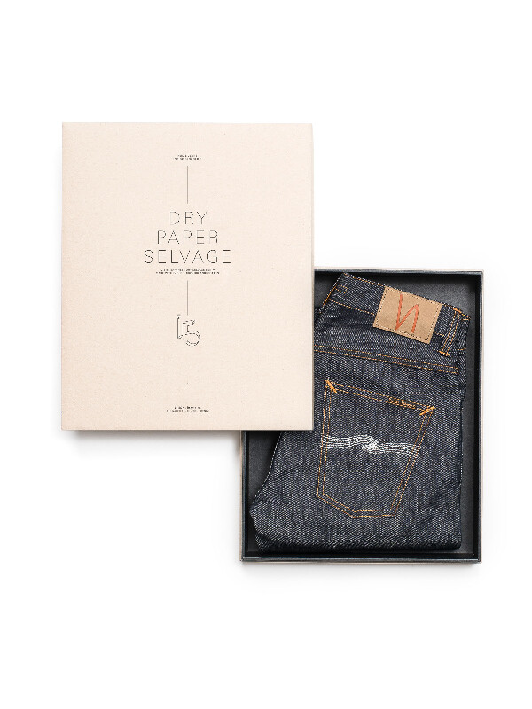 Lean Dean Dry Paper Denim Selvage dry selvage