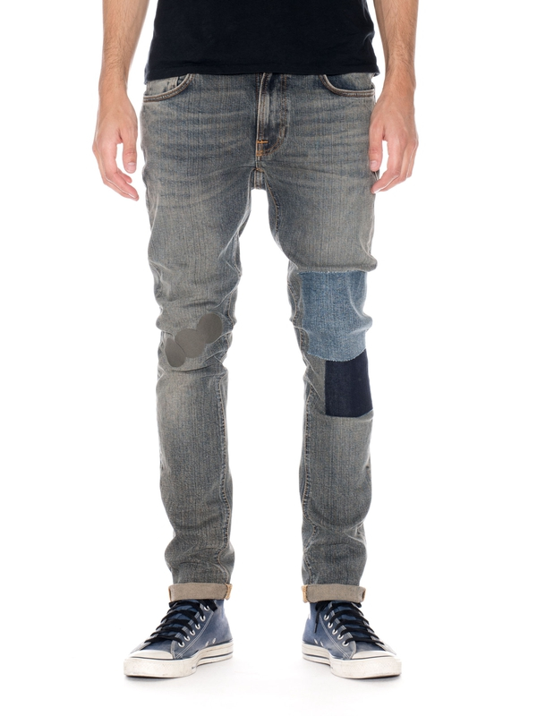 Lean Dean Mirror Patch Surface prewashed jeans