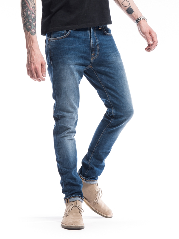 Lean Dean Bay Blue prewashed jeans