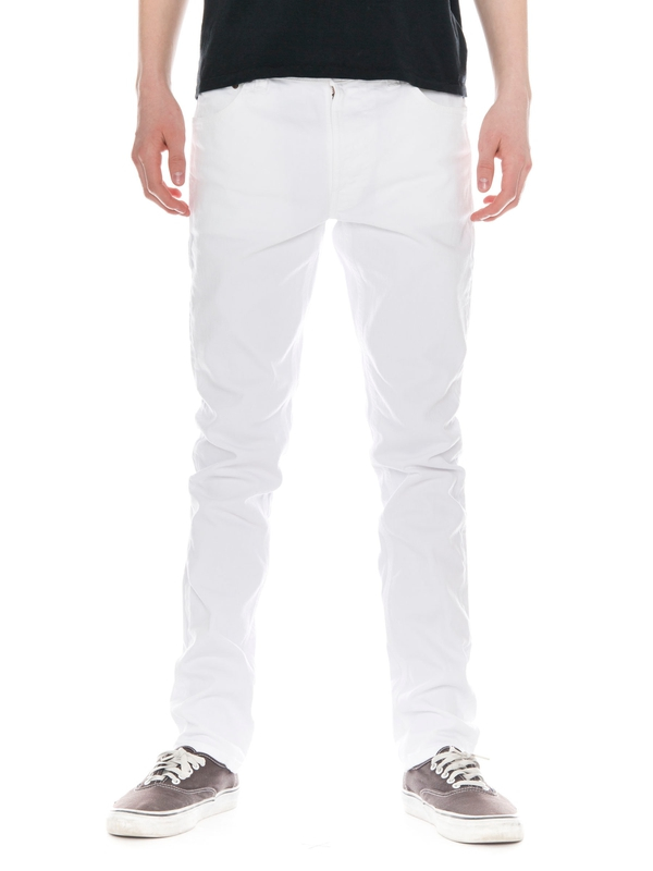 Lean Dean Clean White prewashed jeans