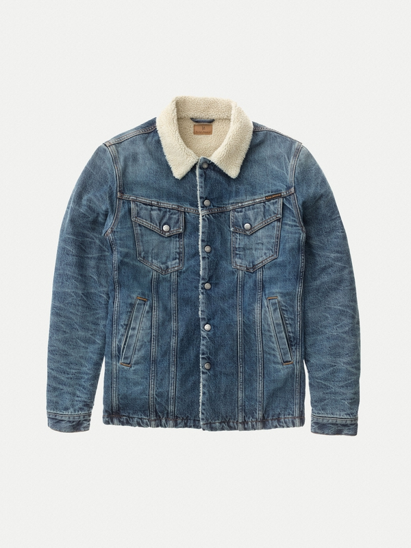 Lenny Heavy Used prewashed denim-jackets