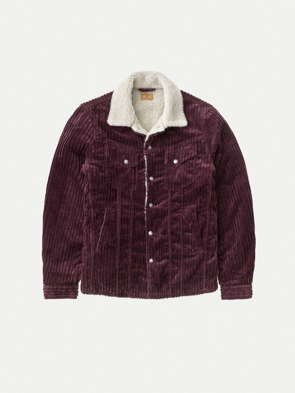 Lenny Wide Cord Plum jackets