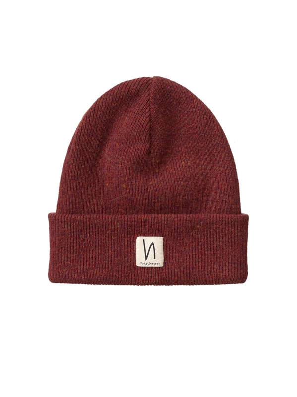 Liamsson Beanie Burnt Red hats accessories