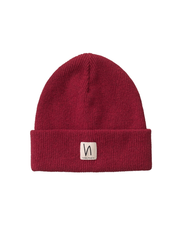 Liamsson Beanie Mantle Red hats accessories