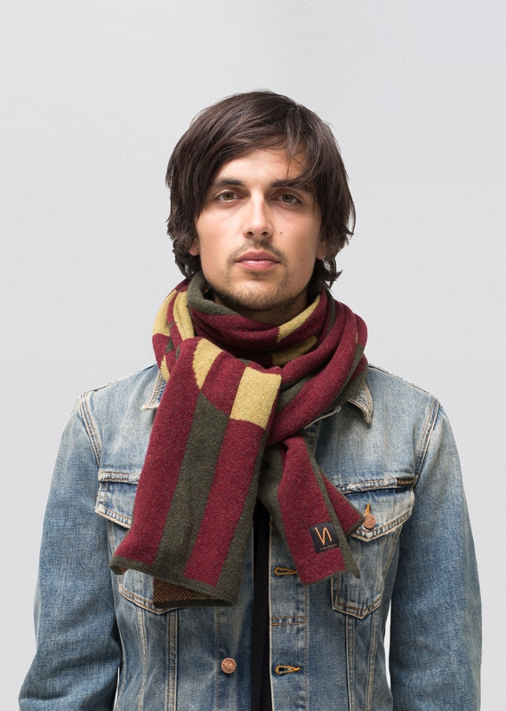 Liamsson NJCO Stripe Scarf scarves accessories