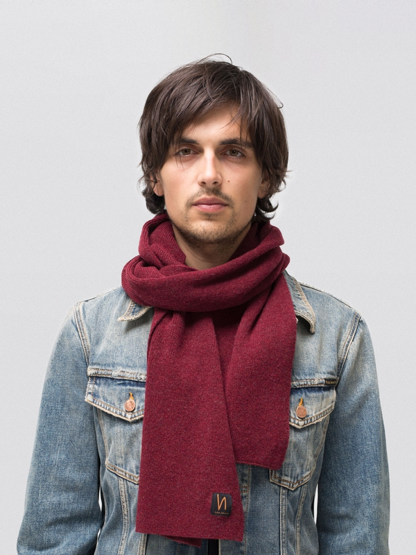 Liamsson Scarf Plum accessories hats scarves
