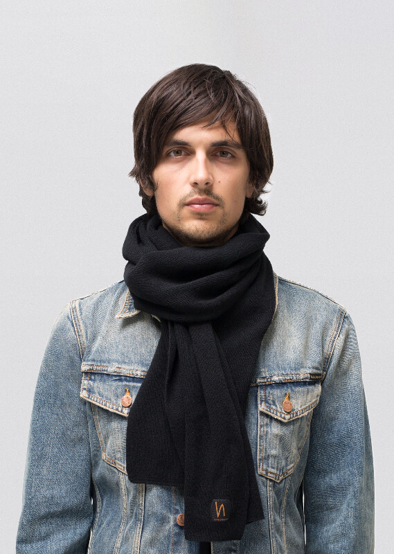 Liamsson Scarf Black accessories scarves