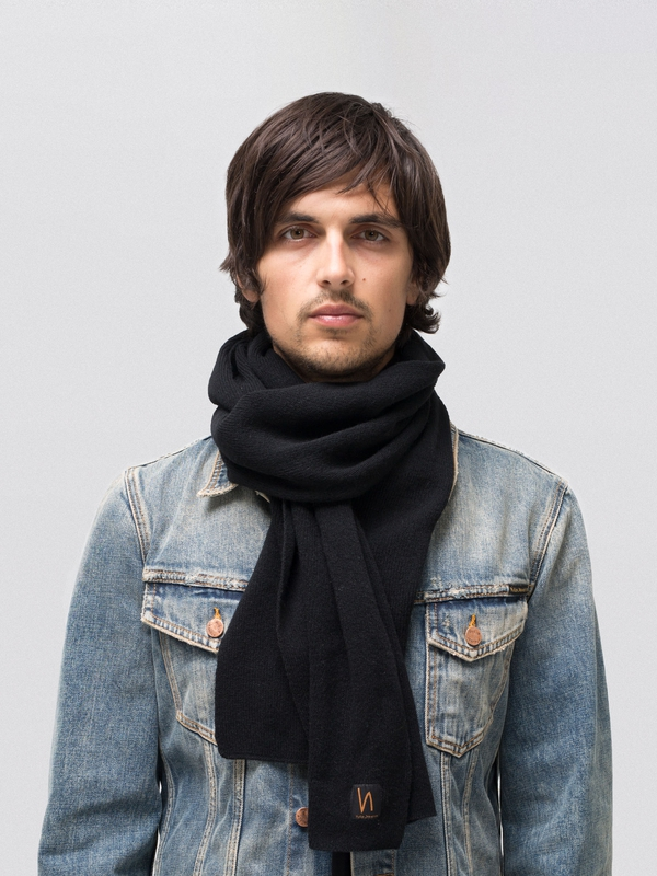 Liamsson Scarf Black accessories hats scarves