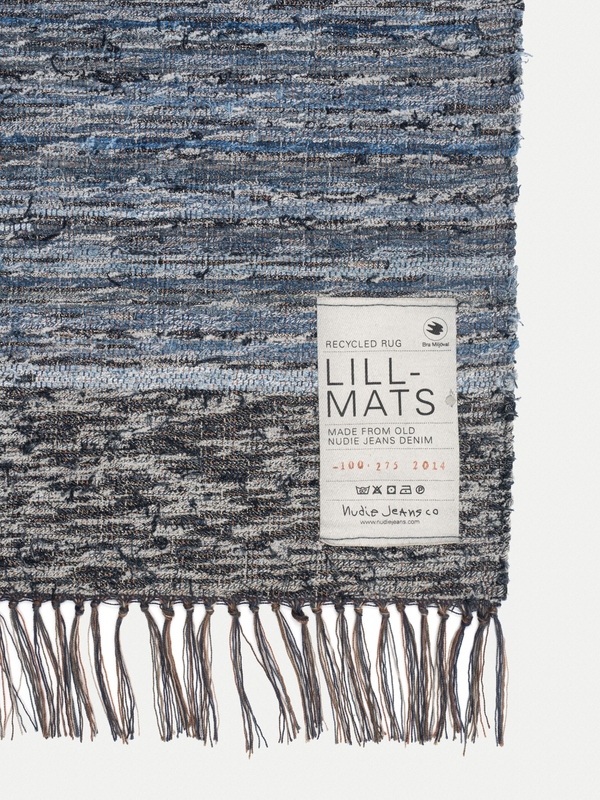 Lill Mats Recycle Rug Indigo Nudie Jeans