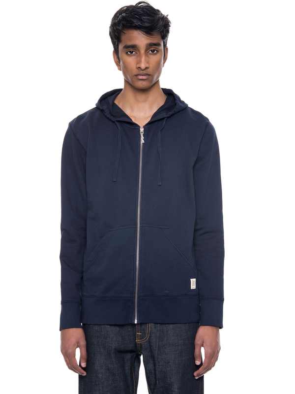 Loke Light Zip Hood  Navy sweatshirts sweaters