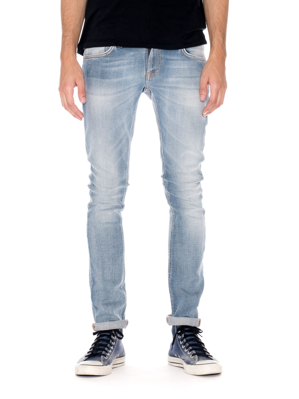 Long John Clean Stone Indigo prewashed jeans