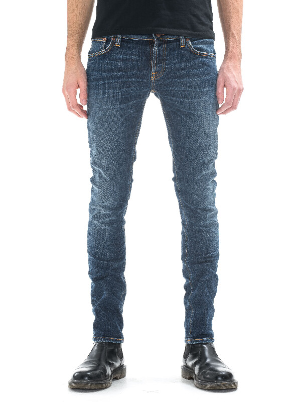 Long John Television Blue prewashed jeans