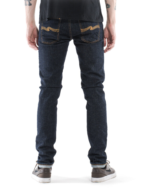 Tight Long John Skinny Jeans Black Wash - Org. black black Nudie Jeans How Much Discount Big Discount Outlet Latest Recommend Cheap Cheap Explore aVd5070