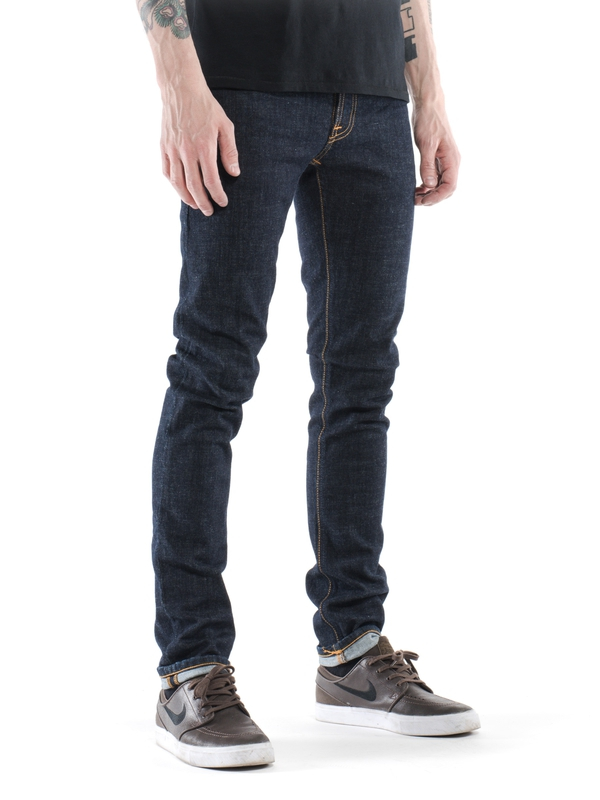 Tight Long John Skinny Jeans Twill Rinsed Wash - Org. twill rinsed Nudie Jeans Sale Manchester ly8Pk