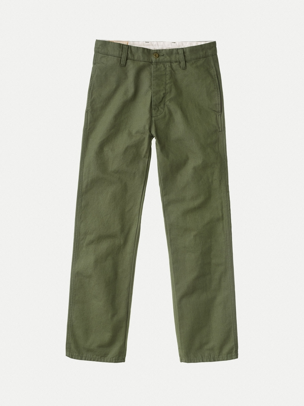 Loose Alvar Green loose canvas