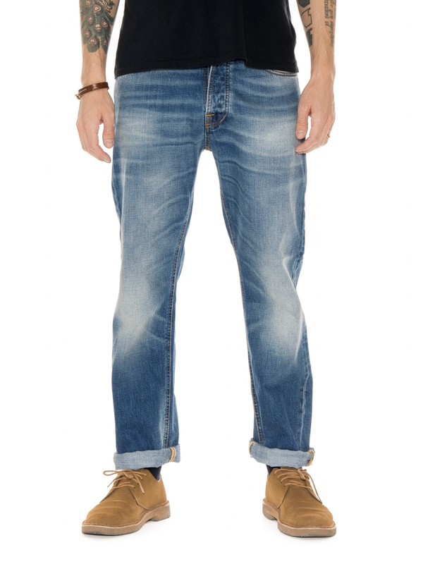 Loose Leif True Indigo prewashed jeans