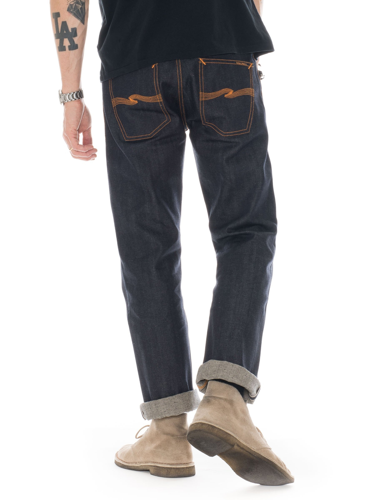 Loose Leif Dry Selvage - Nudie Jeans a54fcaeab0bf