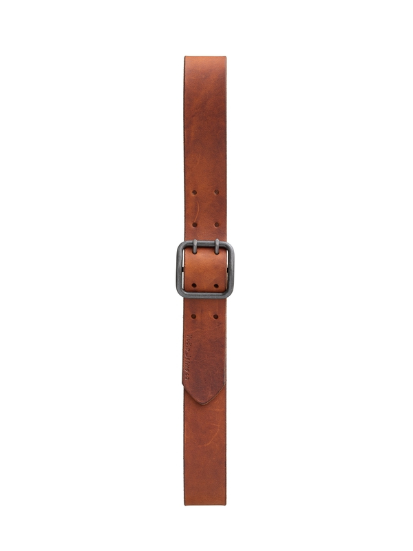 Losson Double Prong Belt Brown belts accessories