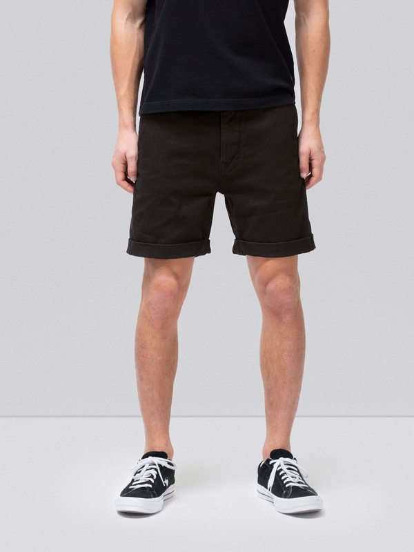 Luke Shorts Twill Black shorts