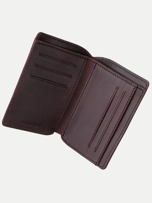 Mark Wallet Saddle Leather Fig
